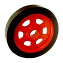 Rubber Bonded CI Trolley wheel