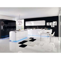 Polymer High Gloss Kitchen Cabinet