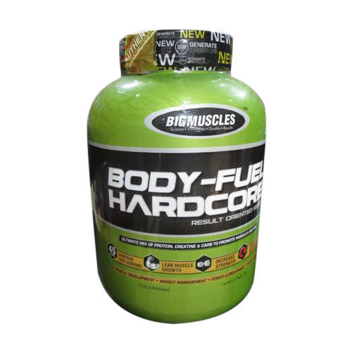Big Muscles Body Fuel Hardcore Food Supplement, Packaging Type: Bottle, Powder