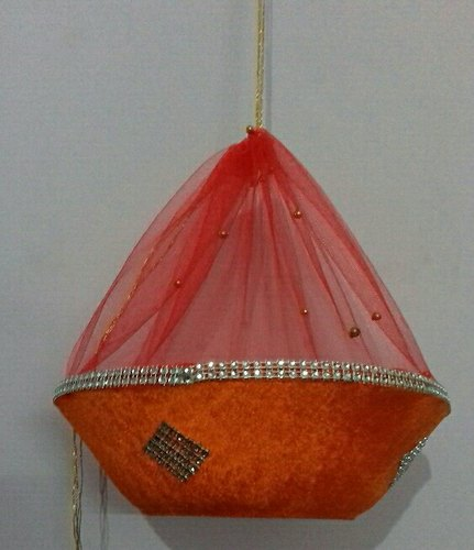 Handmade plastic decorative Wedding Basket