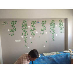 Residential Wall Texture Painting Services