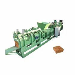Semi Automatic Coco Peat Block Making Machine