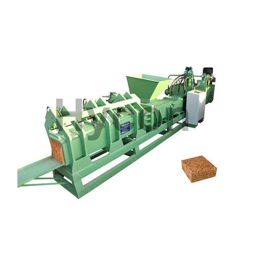 Semi Automatic Coco Peat Block Making Machine
