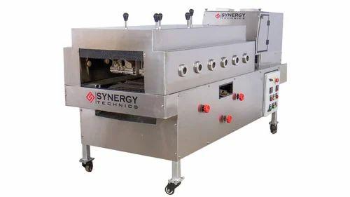 Synergy Technics SS304 Semi Automatic Chapati Making Machine