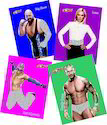 Yummy Foods WWE Glitter Sticker