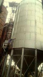 Galvalume Grain Storage Silo