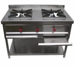 Sararefrigerations LPG 2 Burner Range, For Hotel