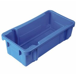 ADM Rectangular Plastic Milk Crate, Size: 510 X 328 X 280 Mm, Capacity: 10-25 Kg