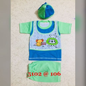 Kids Cotton T Shirt With Half Pant