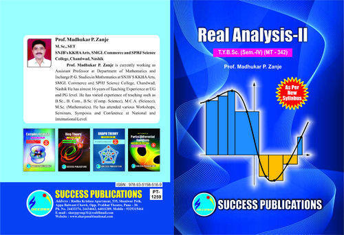 Real Analysis I Book