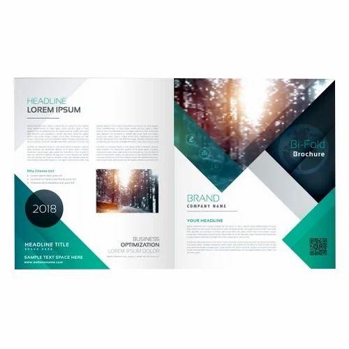 Bi Fold Brochure Printing Service