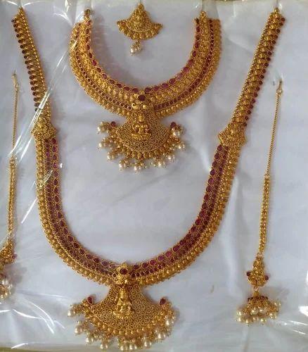 2b9964bfa7 Copper Bridal Jewellery Set, दुल्हन के लिए कॉपर का ...