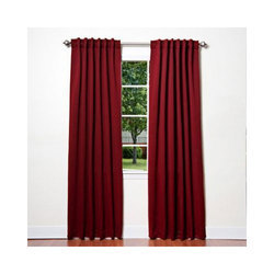 Plain Silk Raw Curtain