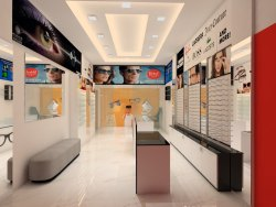 Optical & Eyewear Showroom Design