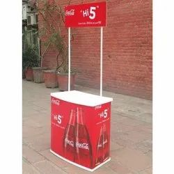 Red Promotional Table