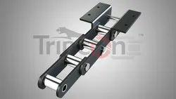 Stainless Steel, Mild Steel 75mm Pitch Elevator Chain