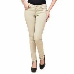 Plain Womens Stylish Slim Fit Denim Jeans, Waist Size: 28-40