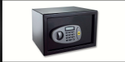 Black Single Door Yale Standard Safe, For Home