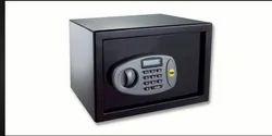 Black Single Door Yale Standard Safe, For Home