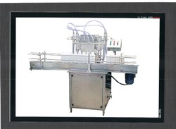 Milk Glass Bottle Filling And Lug Capping Machine