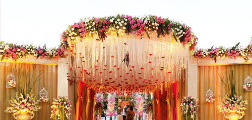 Apecialists in destination weddings exclusive theme weddings wedding entrance decor junglespirit Choice Image