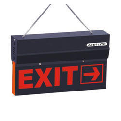 Exit LED Type-black