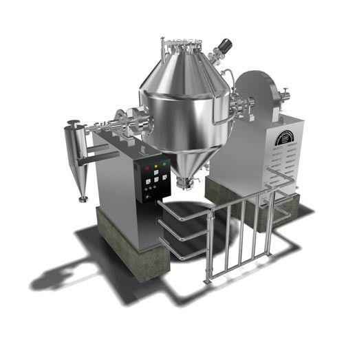 Ss Semi-automatic Rotocone Vacuum Dryer