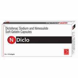 Diclofenac Sodium and Nimesulide Soft Gelatin Capsules