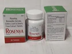 Rosehip Extract 275mg Celery Leaf 250mg Bosewellia Serrata 300 Mg   Devil's Claw 20 Mg