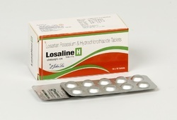 Losartan Potassium 50 Mg Hydrchlorothiazide 12.5 Mg Tablets