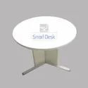 Metal Leg Round Table By Smart Desk