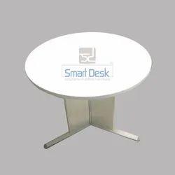 MT 24 Metal Leg Round Table