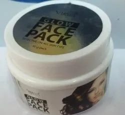 Glow Face Pack, Jar, Packaging Size: 200 Gm