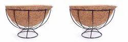 Coir Garden 12 Inch Round Ring Coir Floor Basket