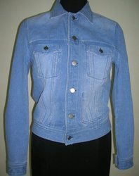 Caliber India Women Denim Jacket, Size: XXS- 6XL