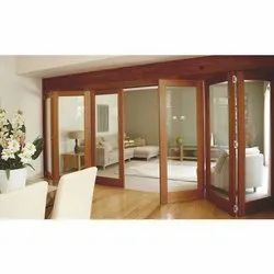 Wood Stacking Folding Door System