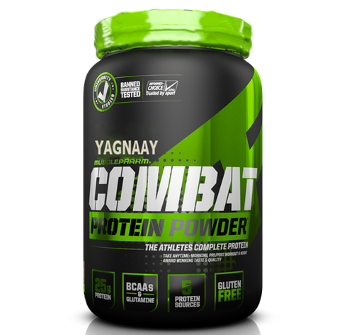Banana Muscle Building Whey Combat Protein Powder, 1.8 Kg ...