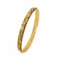 Orra Yellow Gold Bangle Gbg11112