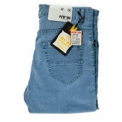 Fit In Men's Denim Jeans, Waist Size: 32