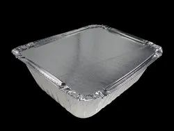 Rectangle  Aluminium Food Containers