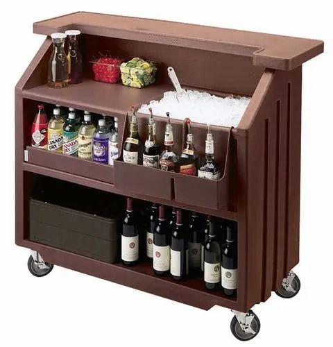 Small Portable Beverage Bar At Rs, Small Home Bar Furniture