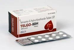 Telmisartan 80/40 MG Hydrochlorthiazide 12.5 MG Tablets