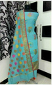 Cotton Party Wear Banarasi Chanderi Suit