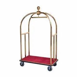 Brass Birdcage Carts