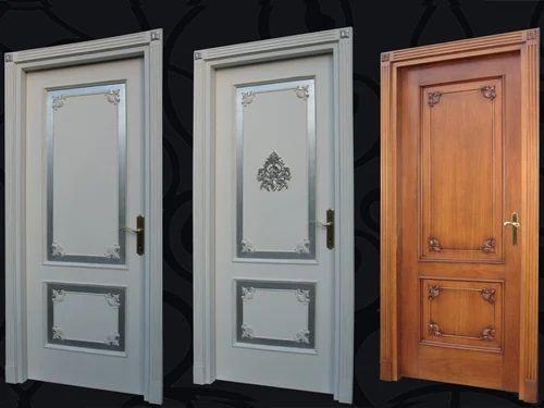 Decorative Door Panels : Decorative door handle stock image