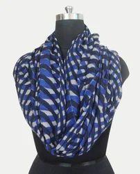 Ladies Wool Printed Scarf