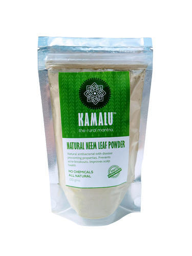 Kamalu 100 % Natural Neem Leaf Powder For Skin And Hair