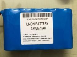 Lithium Ion 15 Ah