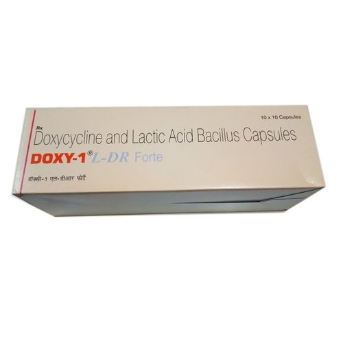 Doxy 1 L DR Infection Forte Capsule, 10 capsule/strip, Price from  Rs.60.67/unit onwards, specification and features