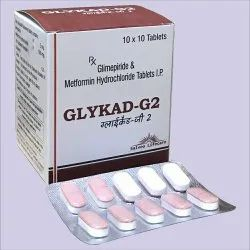 Metformin with Glimepride Tablets